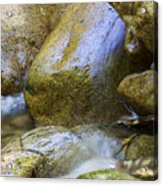Rocky Water Closeup 2 Acrylic Print