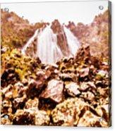 Rocky Water Wilderness Acrylic Print