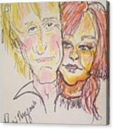 Rod Stewart And Cyndi Lauper Tour 2017 Acrylic Print