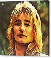 Rod Stewart Collection 1 Acrylic Print