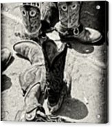 Rodeo Boots And Spurs Acrylic Print