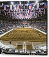 Rodeo Time In Texas Acrylic Print