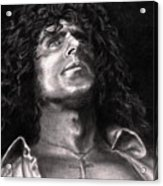 Roger Daltry Acrylic Print by Kathleen Kelly Thompson