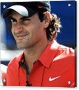 Roger Federer In Attendance For Arthur Acrylic Print by Everett