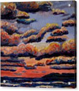 Roiling Skies Acrylic Print