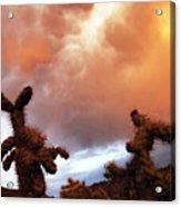 Roiling Sky Acrylic Print