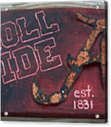 Roll Tide Alabama Acrylic Print
