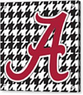 Roll Tide Mini Canvas Acrylic Print