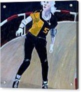 Roller Derby Queen Acrylic Print