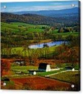 Rolling Countryside Acrylic Print
