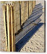 Rolling Fence Acrylic Print