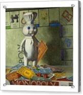 Rolling In Dough Acrylic Print by Judy Sherman