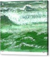 Rolling Ocean Waves Acrylic Print