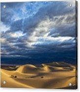 Rolling Sand Dunes Acrylic Print