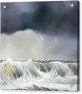 Rolling Sea Acrylic Print