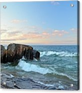 Rolling Waves On Superior Acrylic Print