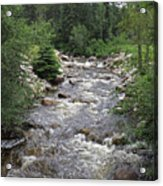 Rollingstone River Acrylic Print