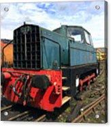 Rolls Royce Sentinel Dl83 Diesel Shunter At The Nene Valley Railway Acrylic Print