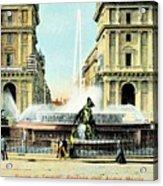 Roma 1900 Piazza Di Termini Acrylic Print