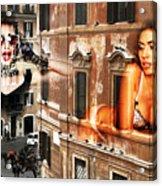 Roma Beauty Acrylic Print