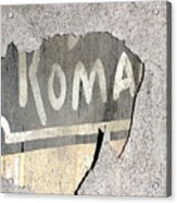 Roma Acrylic Print