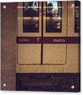 Roma Metro Acrylic Print