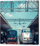 Roma Termini Railway Station Acrylic Print