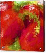 Roma Tomatoes Acrylic Print