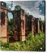 Roman Aqueduct II Acrylic Print