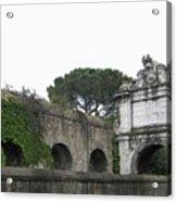 Roman Aqueduct Acrylic Print