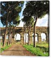 Roman Aqueducts Acrylic Print