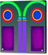 Roman Arctiecture Doors Acrylic Print