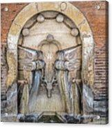 Roman Books Acrylic Print