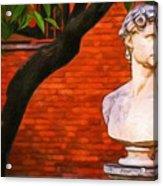 Roman Bust, Loyola University Chicago Acrylic Print