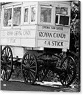 Roman Candy - Bw Acrylic Print