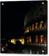 Roman Colosseum Acrylic Print