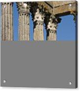 Roman Columns Acrylic Print