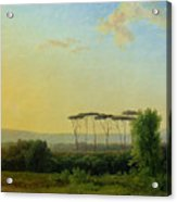 Roman Countryside Acrylic Print by Pierre Henri de Valenciennes