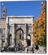 Roman Fall  Acrylic Print