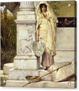 Roman Fisher Girl Acrylic Print