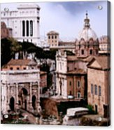 Roman Forum Acrylic Print by Warren Home Decor