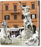 Roman Fountain Acrylic Print