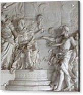 Roman Frieze Acrylic Print