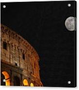 Roman Moon Acrylic Print