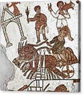 Roman Mosaic: 5th Century Acrylic Print