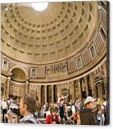 Roman Pantheon Acrylic Print