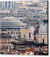 Roman Rooftops Acrylic Print by Andy Smy