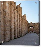 Roman Ruins At Jerash, Jordan  Acrylic Print