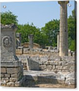 Roman Ruins Near St. Remy In Provence Acrylic Print