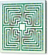 Roman - The Green Path Acrylic Print
